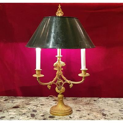 Directoire Style Gilt Bronze Hot Water Bottle Lamp