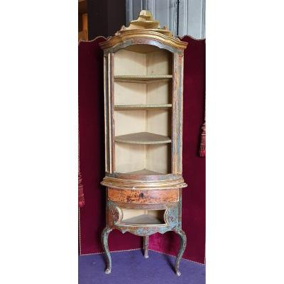 Corner Cabinet Louis XV Period