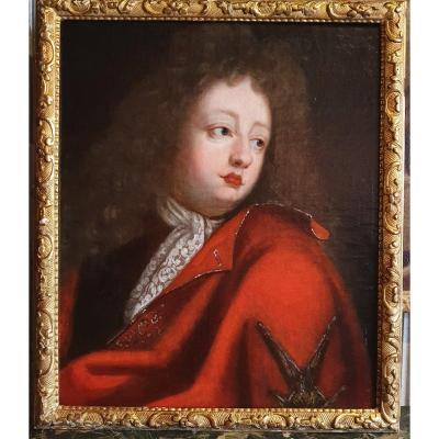 Portrait De Louis De France Epoque XVIIIème Siècle