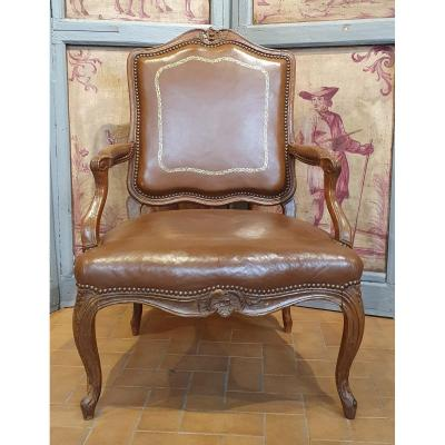 Louis XV Period Cabinet Armchair