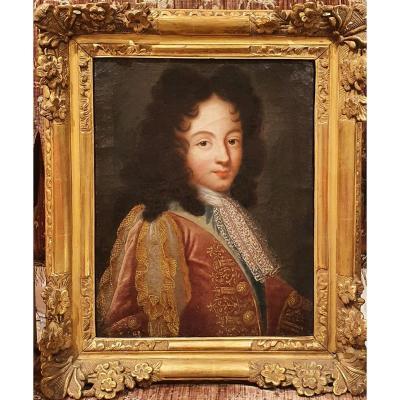 Portrait d'Un Jeune Homme De Qualité Epoque Régence