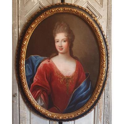 Portrait De Françoise-Marie De Bourbon