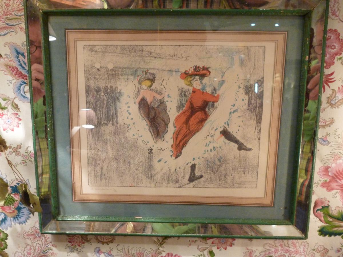 Estampe De Manzana Pissaro
