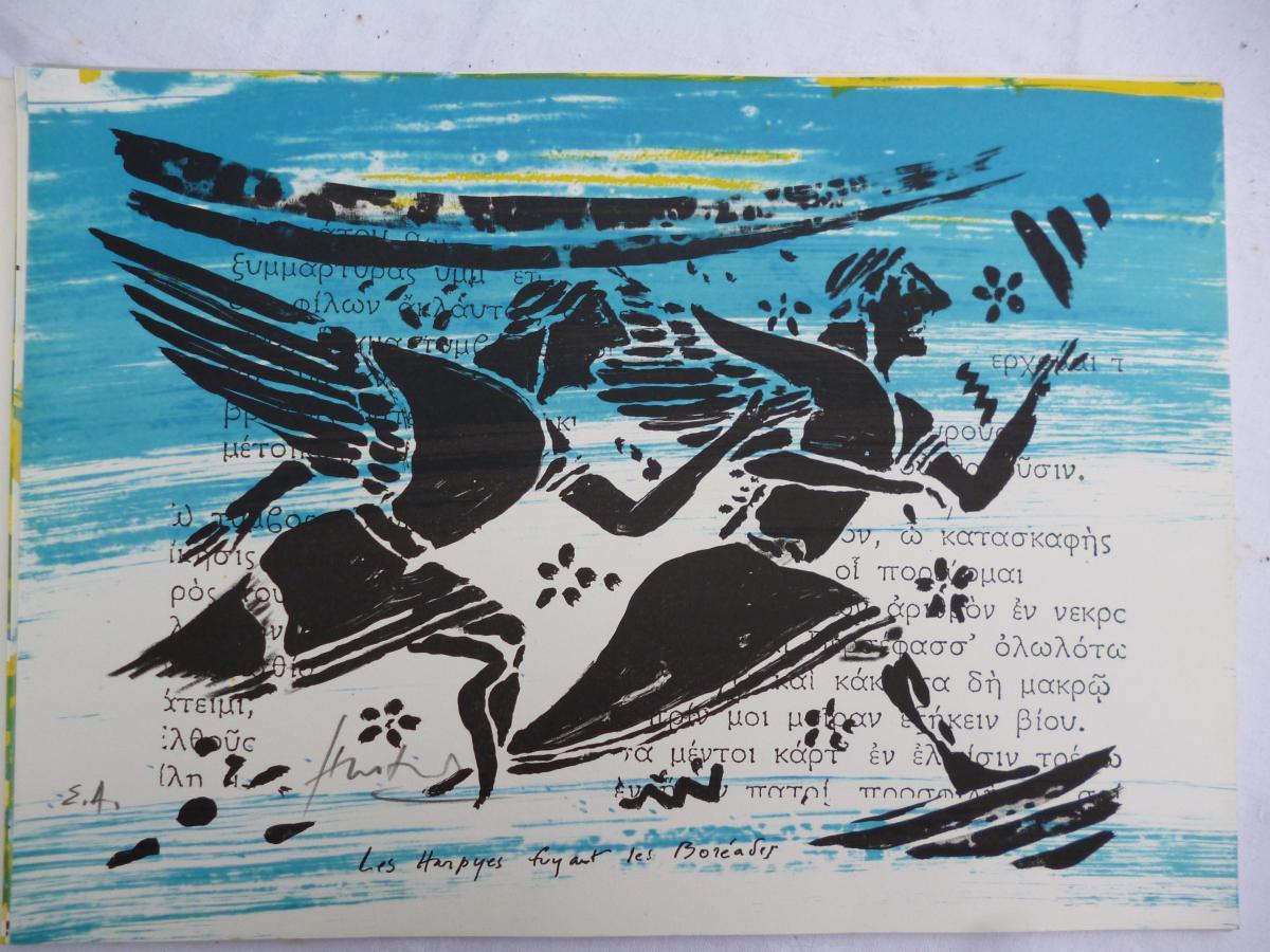 Lithographies De Hastaire  Fils De Hilaire  12 LITHOS -photo-1