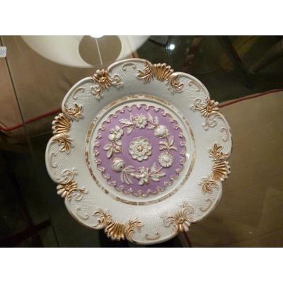 Assiette Décorative En Porcelaine De Meissen