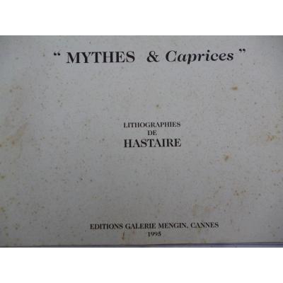 Lithographies De Hastaire  Fils De Hilaire  12 LITHOS