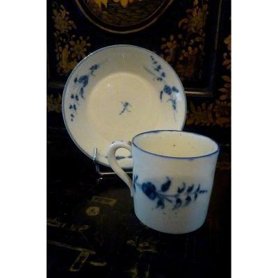 Tasse  Porcelaine De Chantilly Pate Tendre époque Louis XV