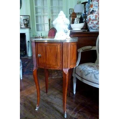 Table Volante époque XVIII E Forme Tambour
