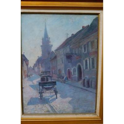 Charles  Weiss  1872 1970  l'Alsace