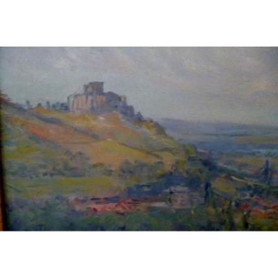 Gustave Madelain  Chateau Gaillard  Les Andelys