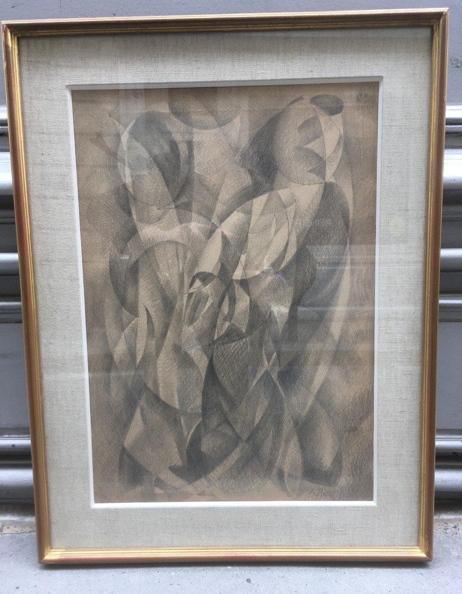 Alfred Reth (1884-1966) œuvre cubiste 1946