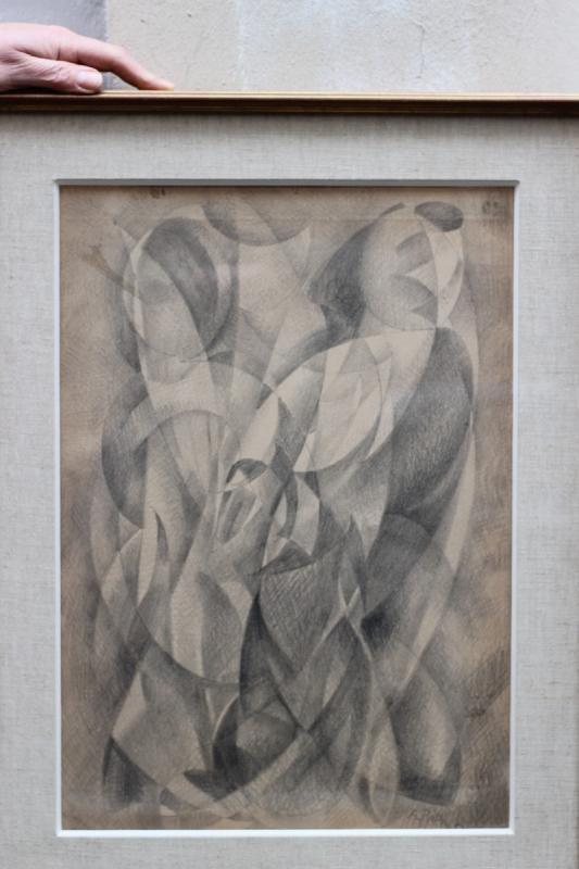 Alfred Reth (1884-1966) œuvre cubiste 1946-photo-2