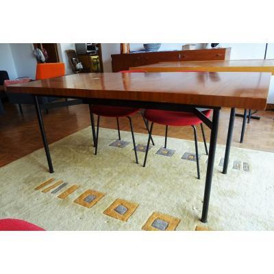 Table de salle à manger de Gérard Guermonprez modèle Monaco c.1960 éditions Magnani. Guariche, Alain Richard, Paulin....