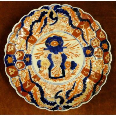 Assiette Porcelaine Imari XIXe