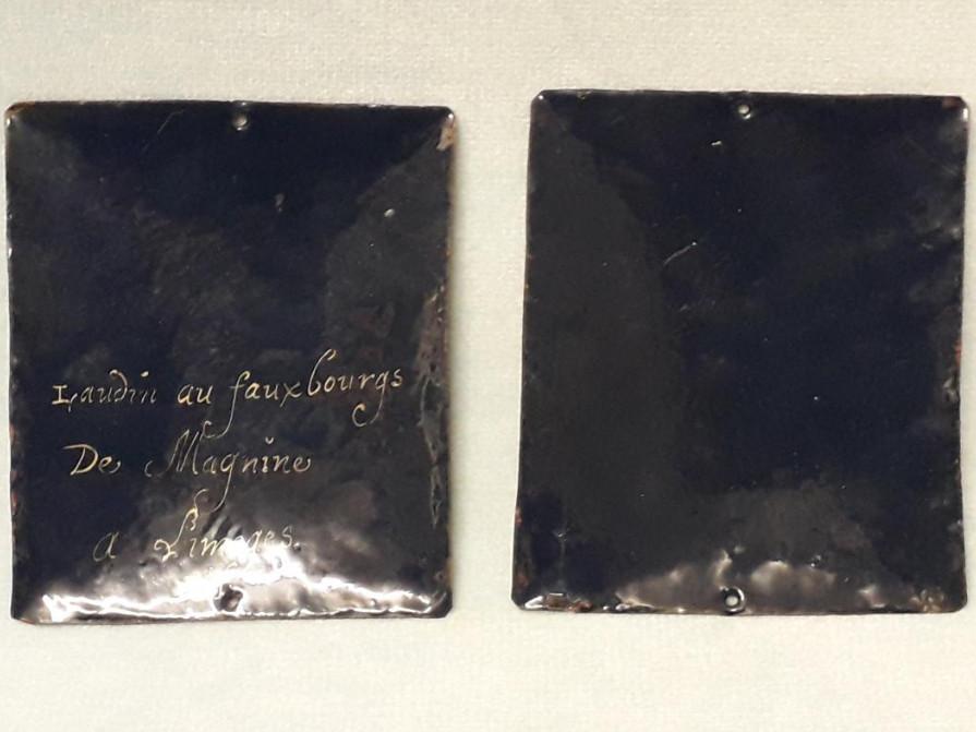 Ignace de Loyola et François-Xavier, émail peint, Limoges -photo-1