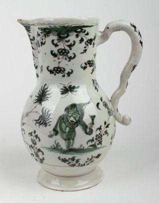 Pitcher In Faïence From Moustiers