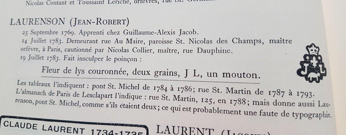 Verseuse En Argent Paris 1789-photo-4