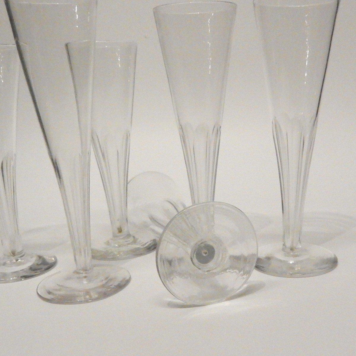 """6 flûtes à Champagne, modèle dit """"impossible"""" -photo-3"""