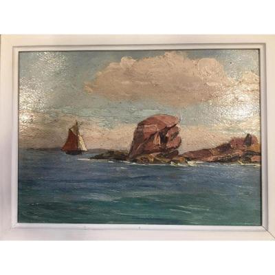 Tableau Paul Esnoul Presqu'île De Crozon