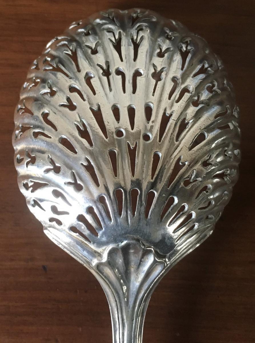 Sprinkler, Sugar Spoon, Silver, XVIII