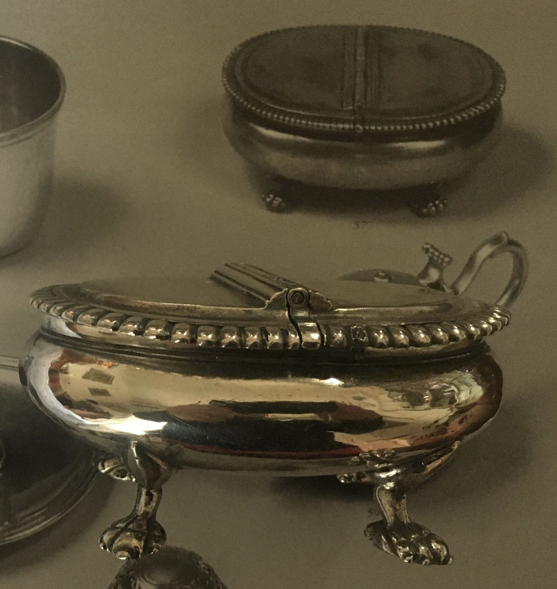 Box With Spices, Silver, XVIII