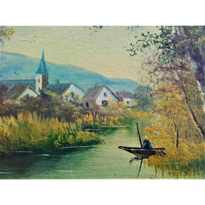 Landscape By Morel