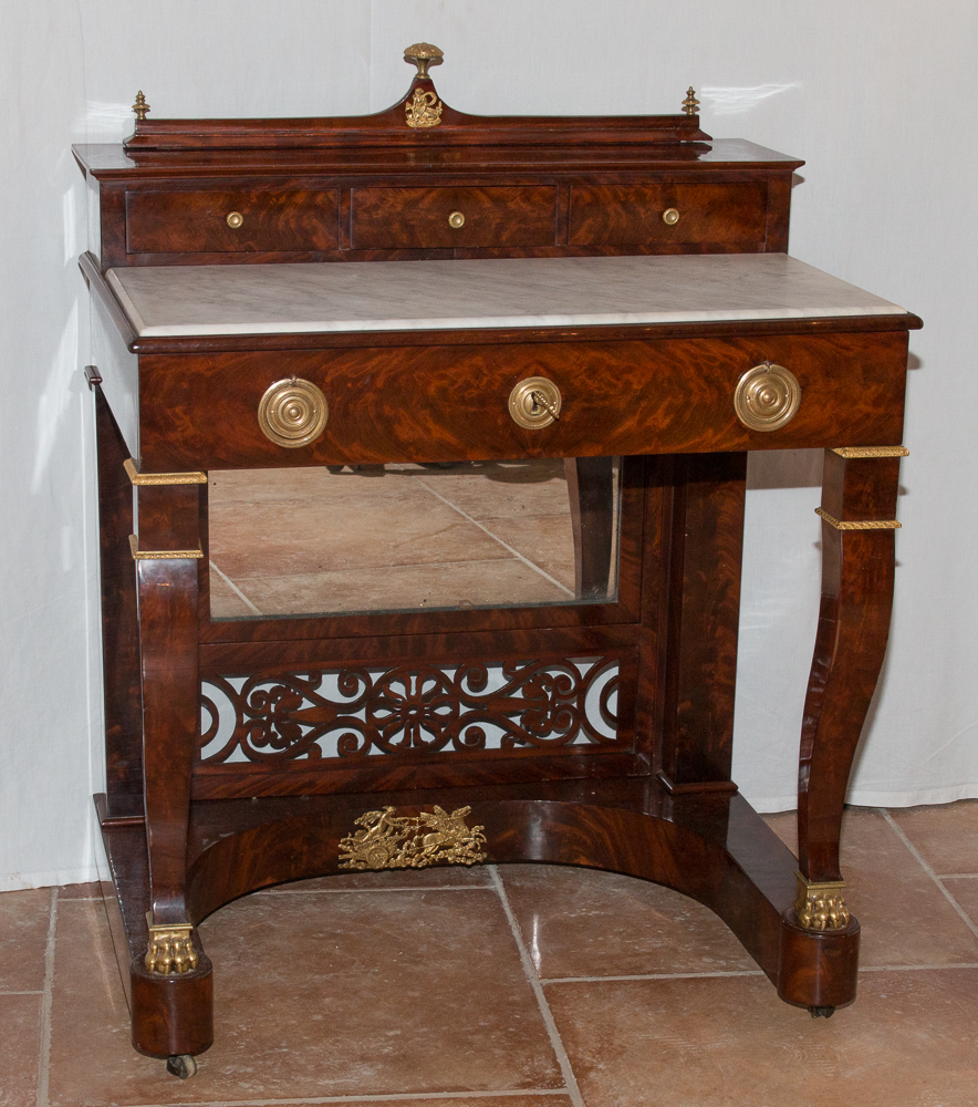 Toilette Table Mahogany Restoration Period 1820-1830