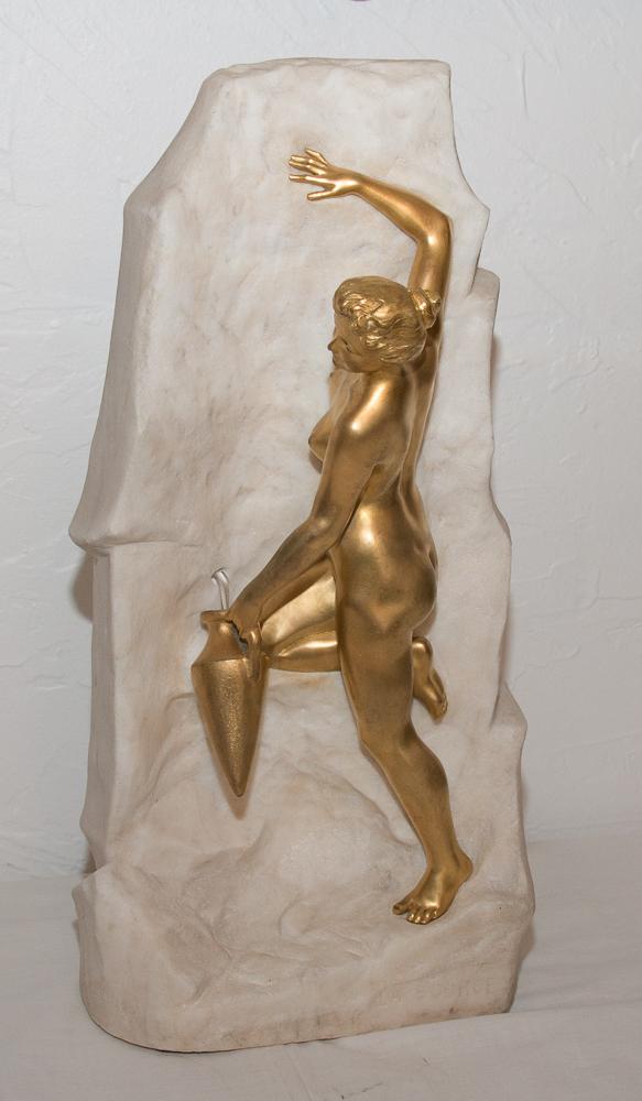 """Bronze """"La Source"""" Signé Obiols 1858-1910"""