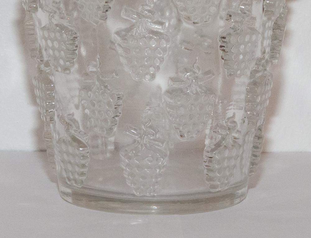 Vase Model Washing Grapes Malaga R Lalique 1937-photo-2