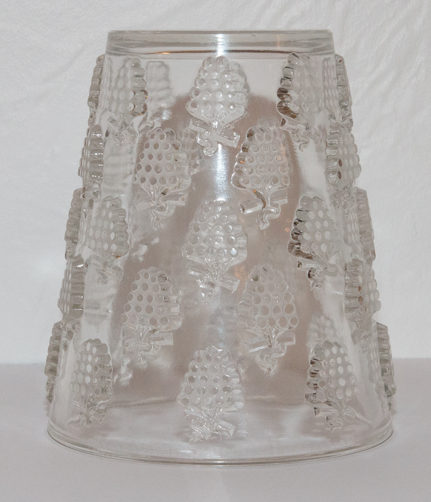 Vase Model Washing Grapes Malaga R Lalique 1937-photo-3
