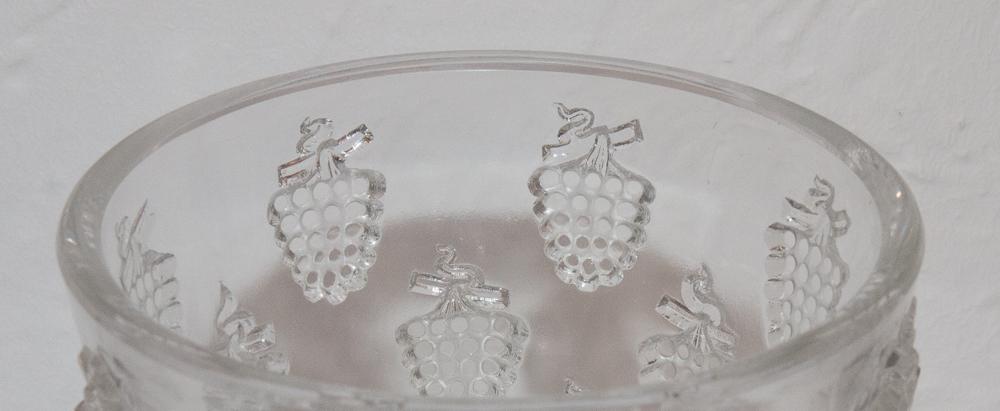 Vase Model Washing Grapes Malaga R Lalique 1937-photo-4