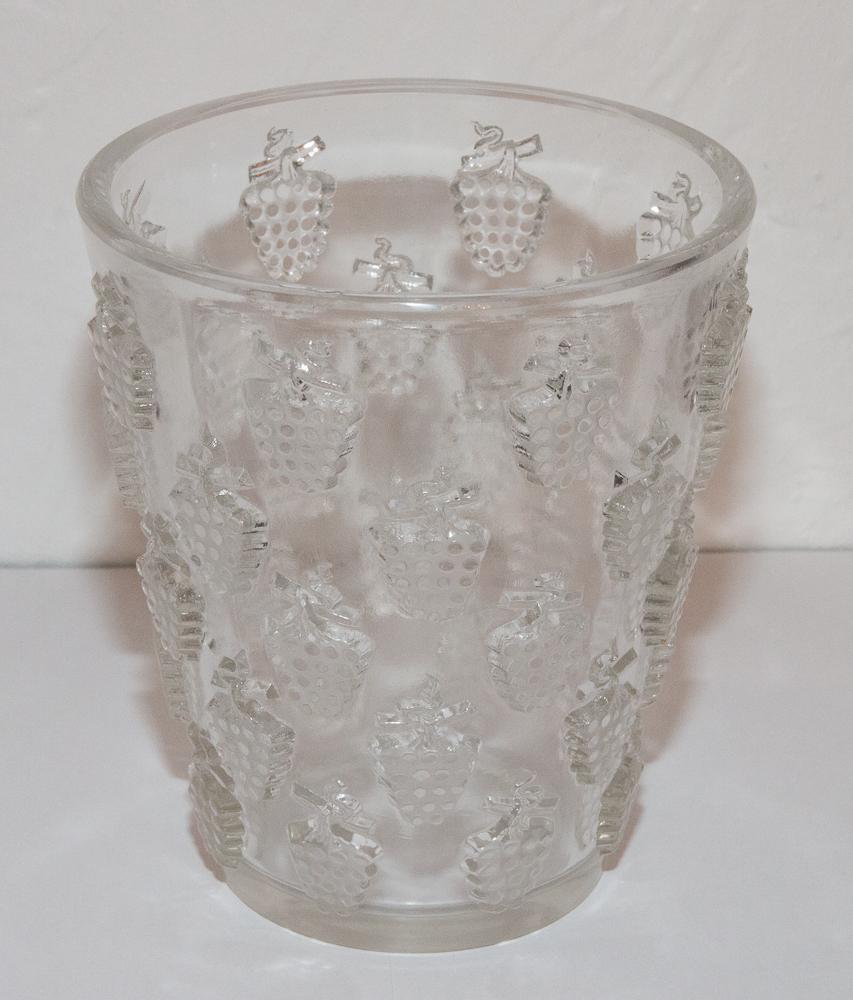 Vase Model Washing Grapes Malaga R Lalique 1937-photo-7
