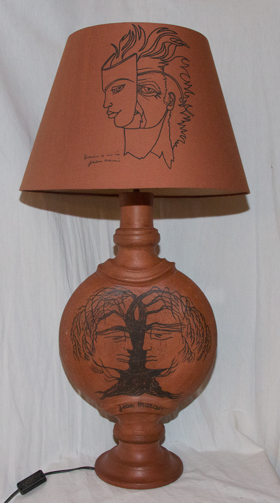Lampe Signée Jean Marais 1913-1998