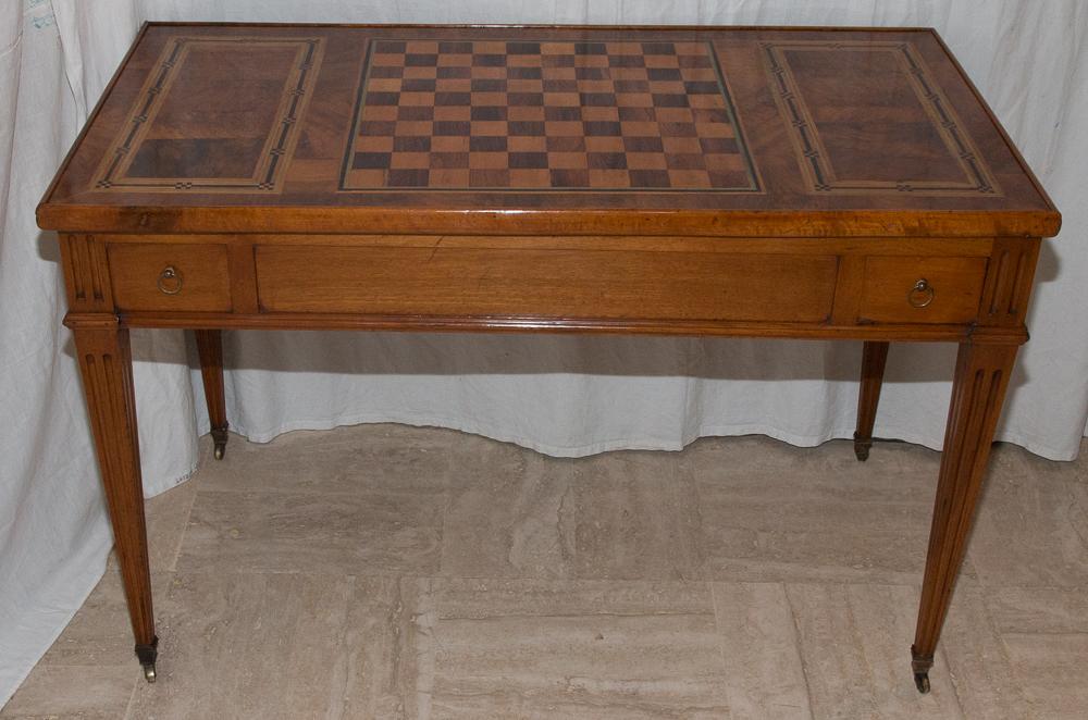 Table De Jeux Tric-trac d'époque Louis XVI