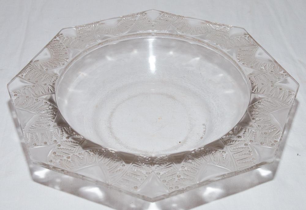Coupe Modèle Chantilly René Lalique