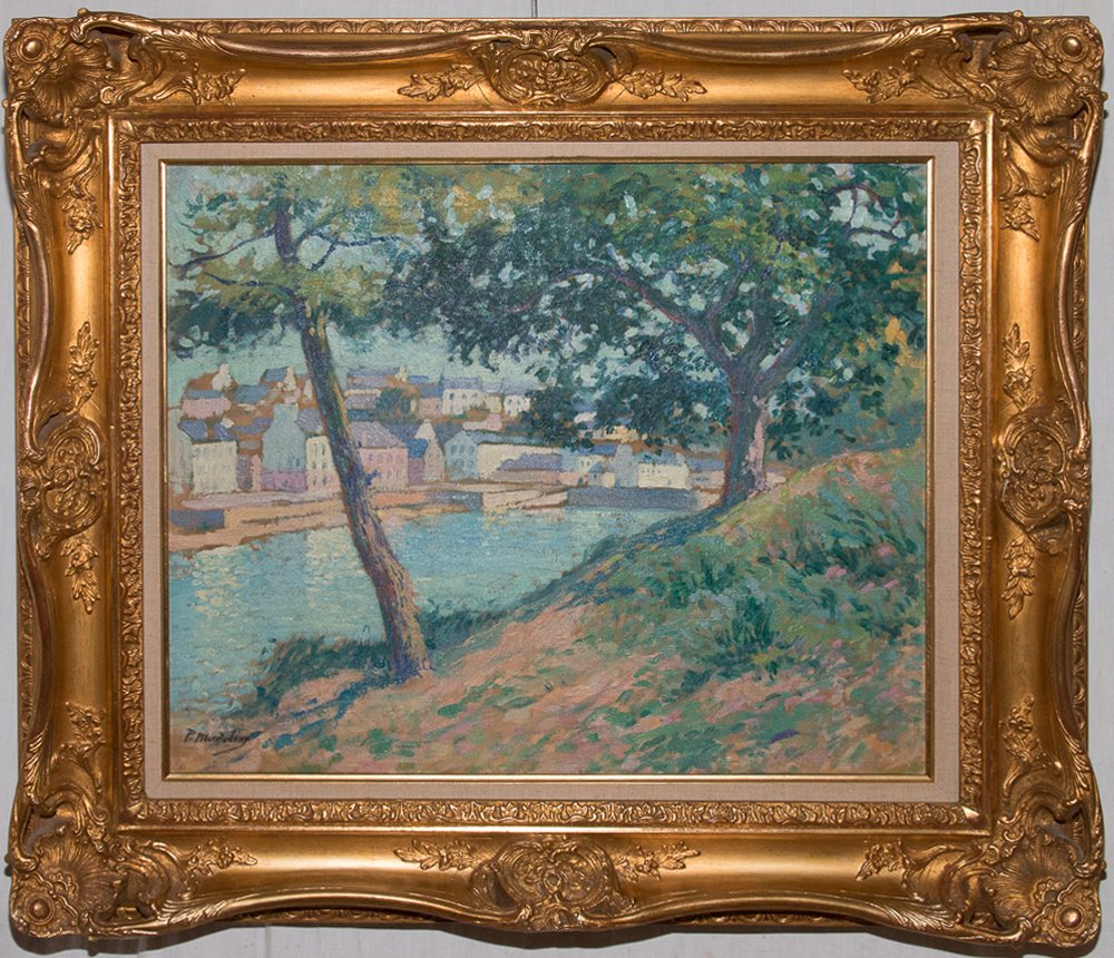 Doëlan Port De Bretagne Paul Madeline 1863-1920