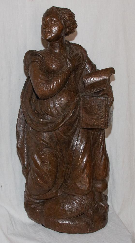 Marie Madeleine en noyer Epoque XVIIe Siècle