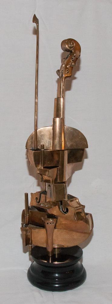 Violon Spirale Cubiste 2001-2002 Arman