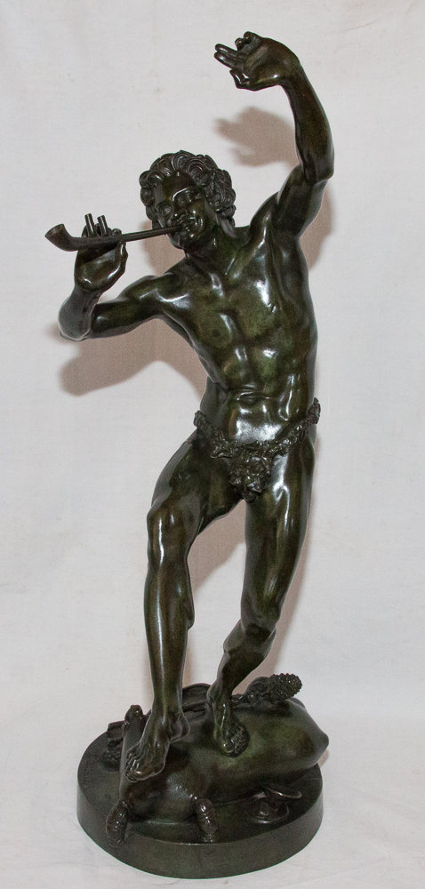 Dancing Animal Bronze Signed Lequesne 1815-1887