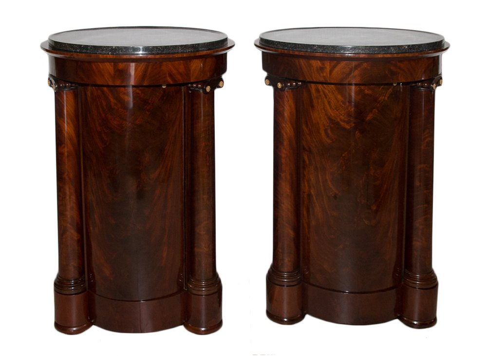 Pair Of Great Somnos In Mahogany Empire Time