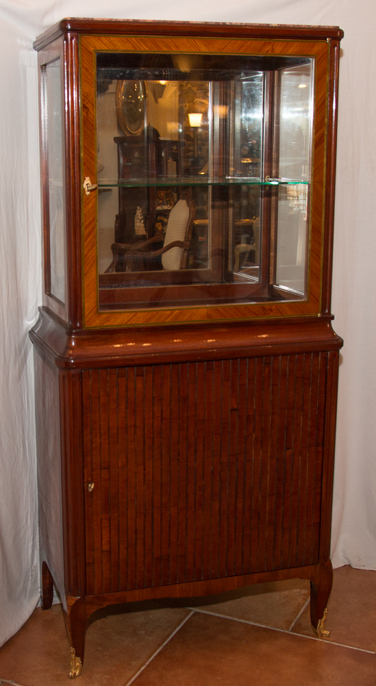 Showcase 2 Body Style Marquetry Transition In Late 19th Century