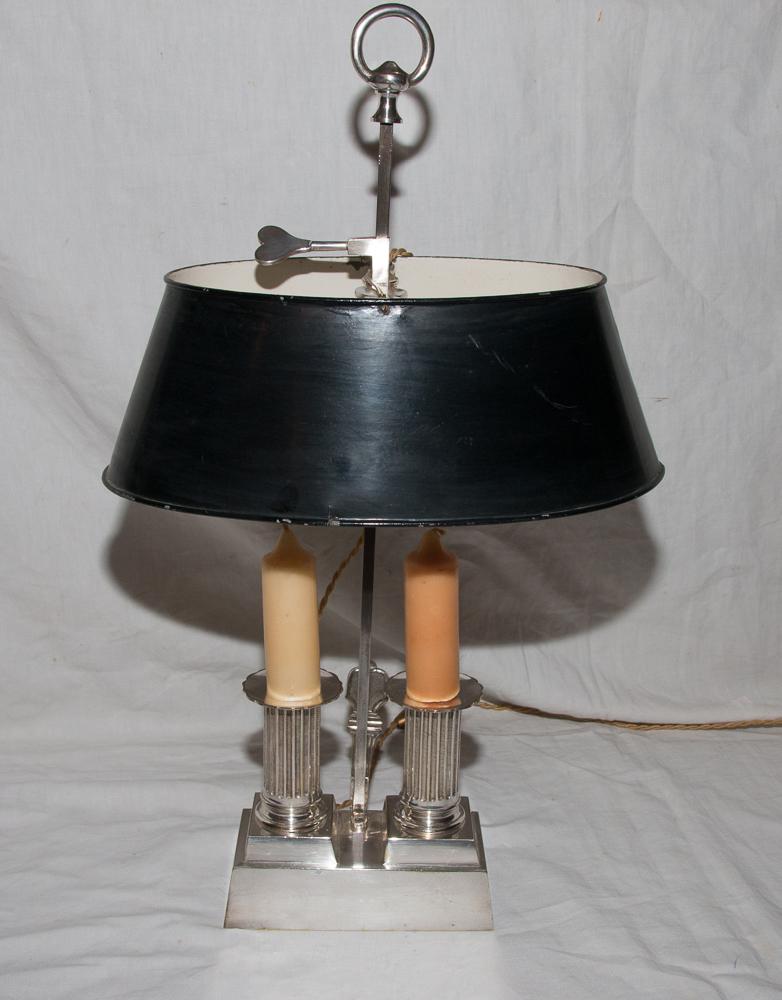Lampe Bouillotte Style Louis XVI Début 19ème Siècle