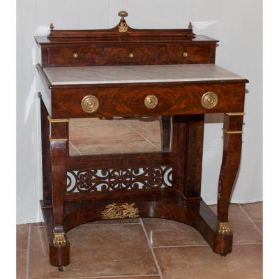 Toilette Table Mahogany Restoration Period 1820-1830