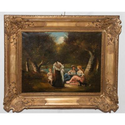 Table Scene Genre Era Nineteenth Century