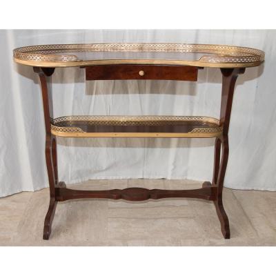 Table rognon En Acajou Style Louis XVI Fin 19ème