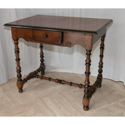 Louis XVI Period Walnut Table