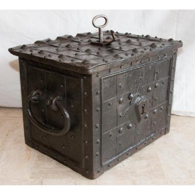 Coffre Fort De Nuremberg époque XVIIe Siècle