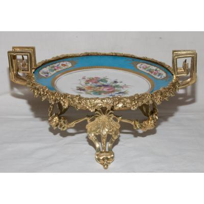 Coupe En Sèvres, Epoque Louis Philippe, Année 1837