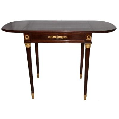 Mahogany Vanity Desk Table Krieger Paris