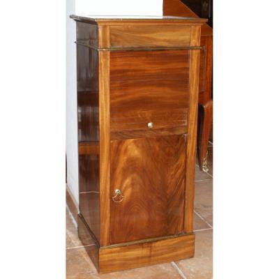 Bedside Management At Rideau Mahogany Clear Early 19th Century